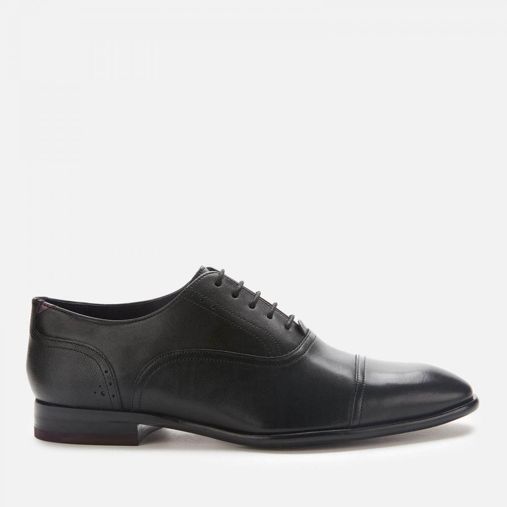 テッドベーカー Ted Baker メンズ 革靴・ビジネスシューズ シューズ・靴【Circass Leather Toe Cap Oxford Shoes - Black】Black