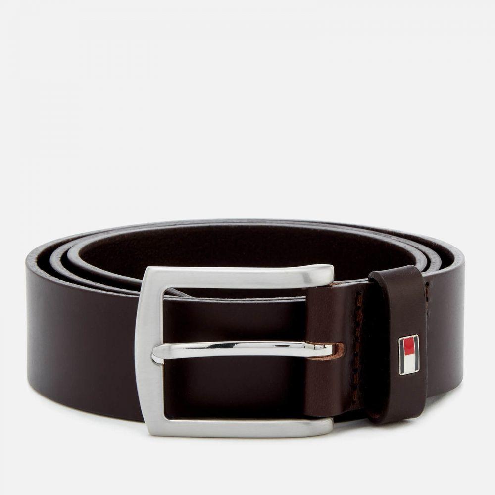 トミー ヒルフィガー Tommy Hilfiger メンズ ベルト 【New Denton Belt 3.5 - Testa Di Moro】Brown