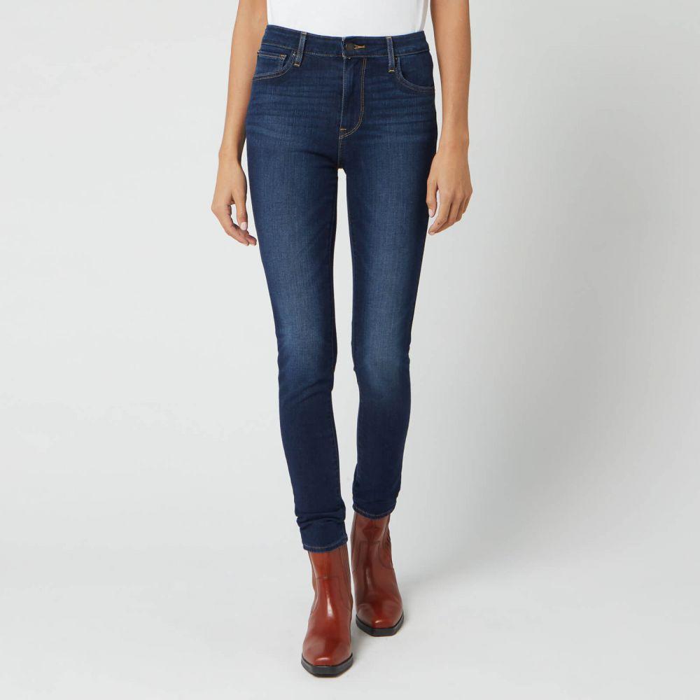 リーバイス Levi's レディース ジーンズ・デニム ボトムス・パンツ【721 High Rise Skinny Jeans - Smooth It Out】Blue
