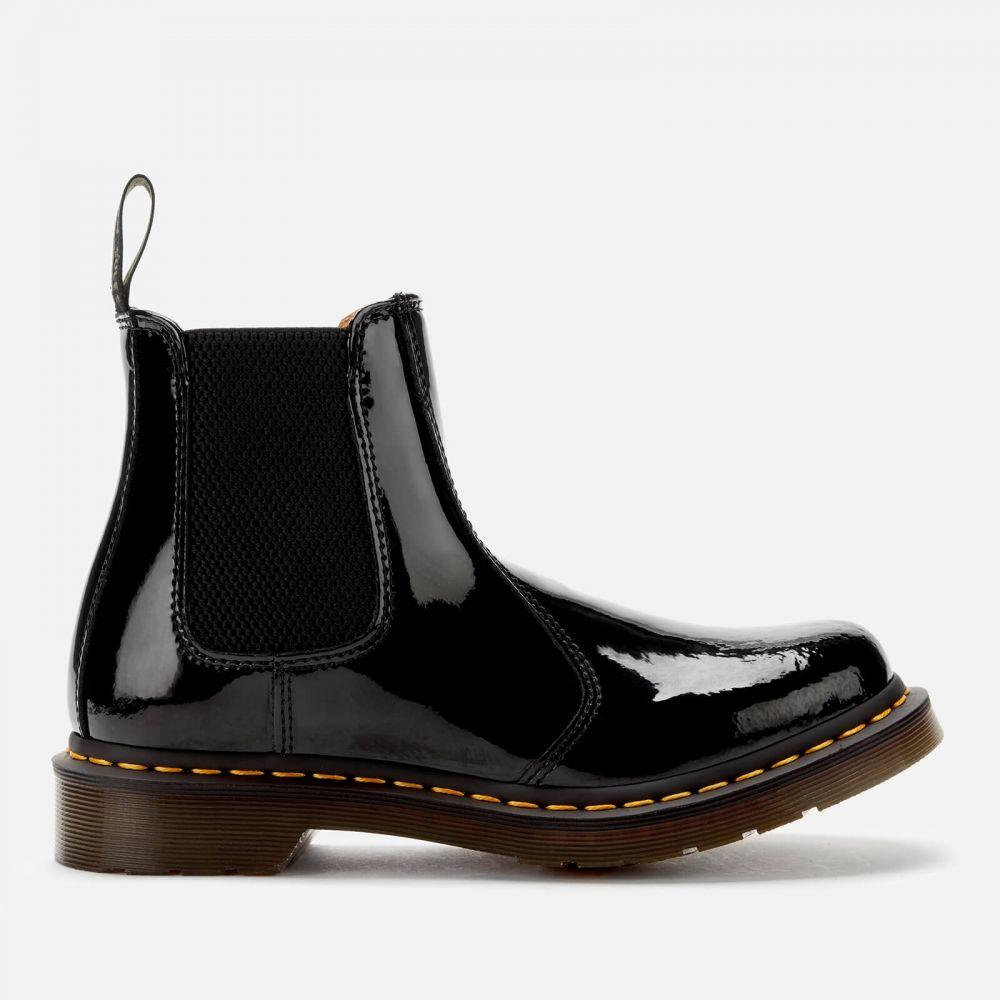 ドクターマーチン Dr. Martens レディース ブーツ チェルシーブーツ シューズ・靴【2976 Patent Lamper Chelsea Boots - Black】Black