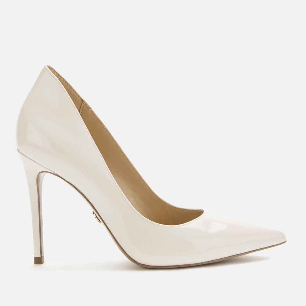 マイケル コース MICHAEL MICHAEL KORS レディース パンプス シューズ・靴【Keke Patent Leather Court Shoes - Light Cream】White
