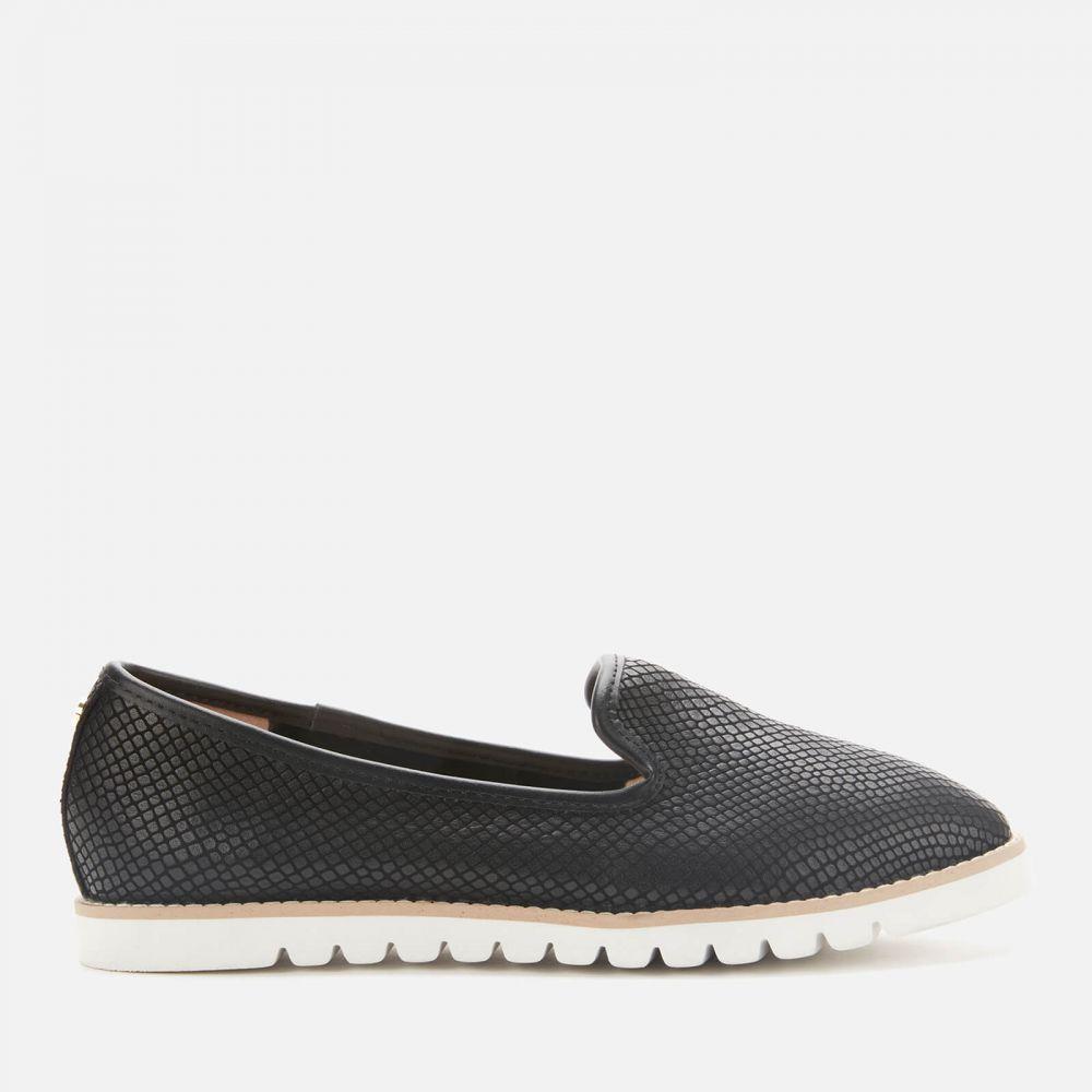 デューン Dune レディース ローファー・オックスフォード シューズ・靴【Galleon Leather Comfort Loafers - Black】Black