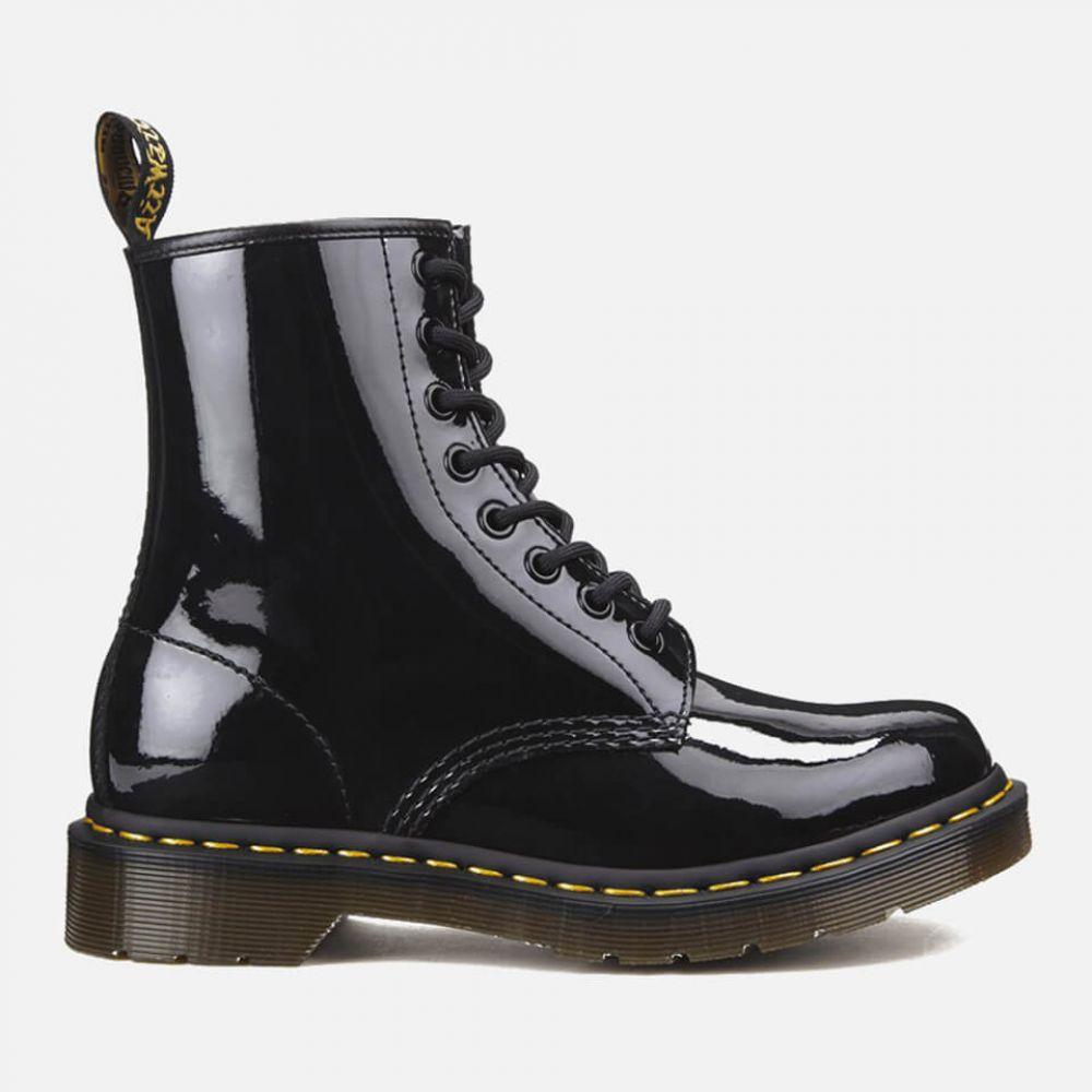 ドクターマーチン Dr. Martens レディース ブーツ シューズ・靴【1460 Patent Lamper 8-Eye Boots - Black】Black