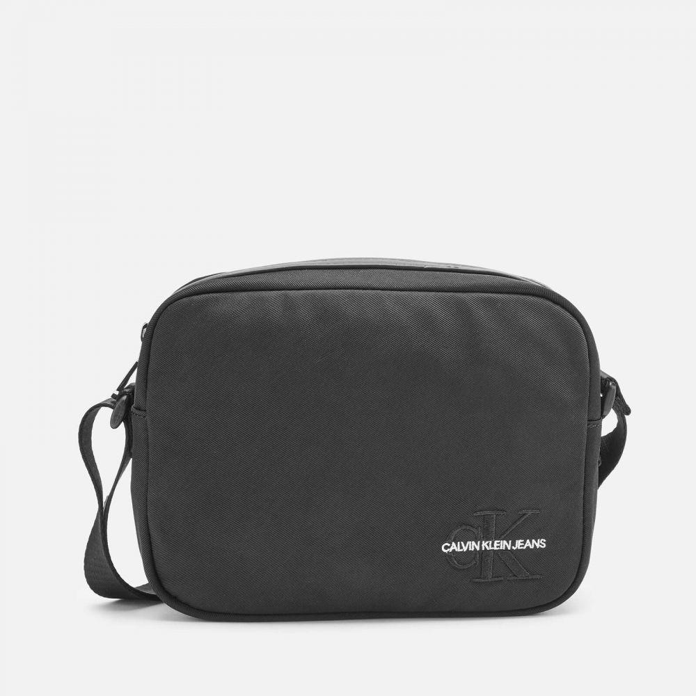 カルバンクライン Calvin Klein Jeans レディース ショルダーバッグ カメラバッグ バッグ【Monogram Nylon Camera Bag - Black】Black