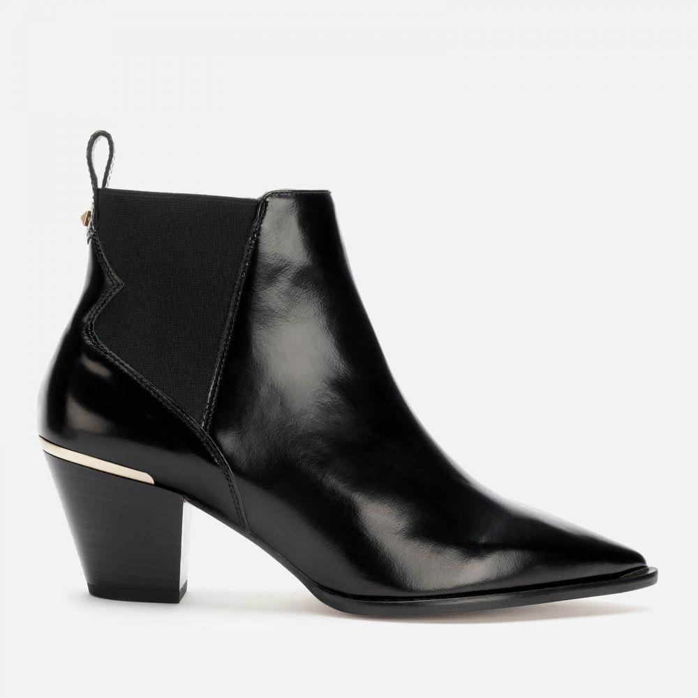 テッドベーカー Ted Baker レディース ブーツ ショートブーツ ウェスタンブーツ シューズ・靴【Rilanni Leather Western Style Ankle Boots - Black】Black
