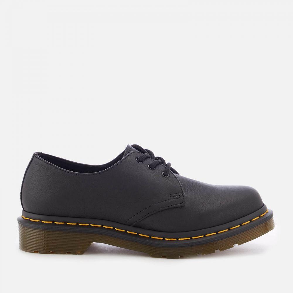 ドクターマーチン Dr. Martens レディース シューズ・靴 【1461 W Virginia Leather 3-Eye Shoes - Black】Black