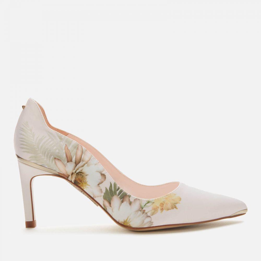テッドベーカー Ted Baker レディース パンプス シューズ・靴【Erwiin Floral Court Shoes - Pale Pink】Pink