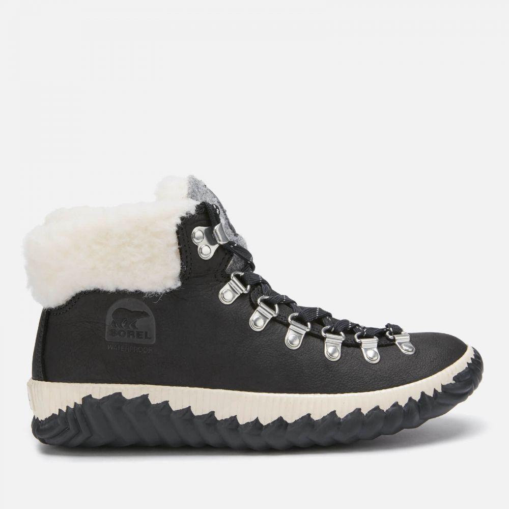 ソレル Sorel レディース ブーツ シューズ・靴【Out 'N About Plus Conquest Waterproof Suede Boots - Black】Black