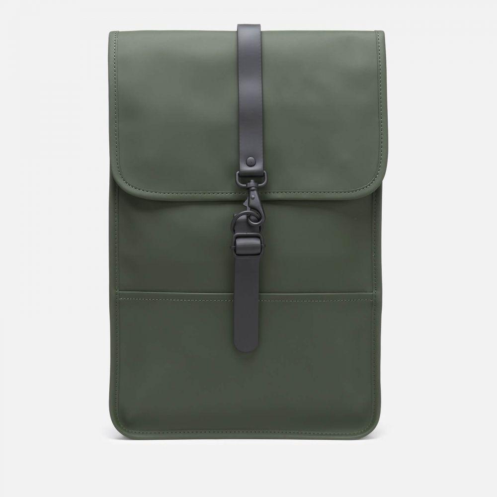 レインズ RAINS メンズ バックパック・リュック バッグ【Mini Backpack】Green