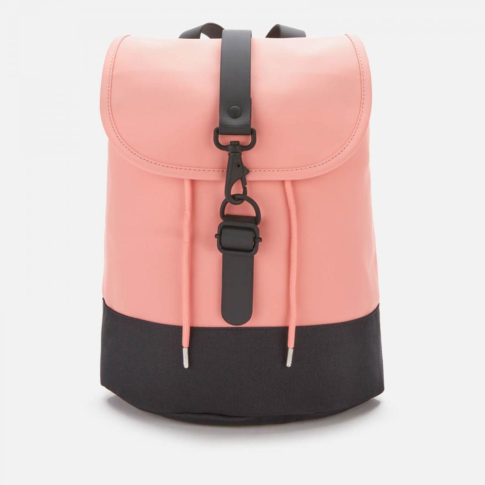 レインズ RAINS メンズ バックパック・リュック バッグ【Drawstring Backpack】Pink