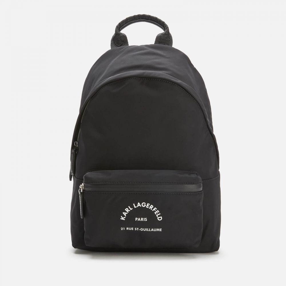 カール ラガーフェルド Karl Lagerfeld レディース バックパック・リュック バッグ【Rue ST Guillaume Medium Backpack】Black