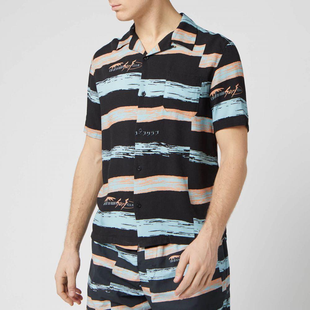 エドウィン Edwin メンズ シャツ トップス【Resort Shirt】Black
