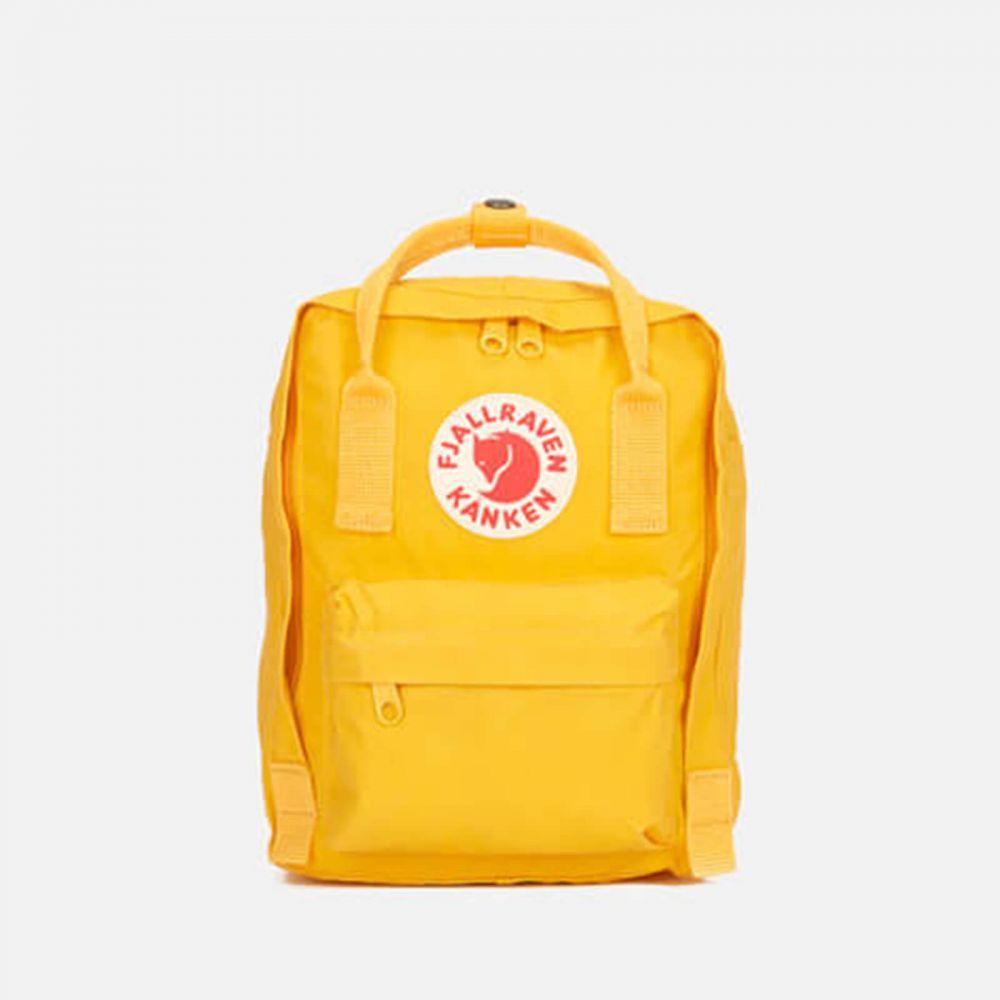 フェールラーベン Fjallraven レディース バックパック・リュック カンケン バッグ【Kanken Mini Backpack】Yellow
