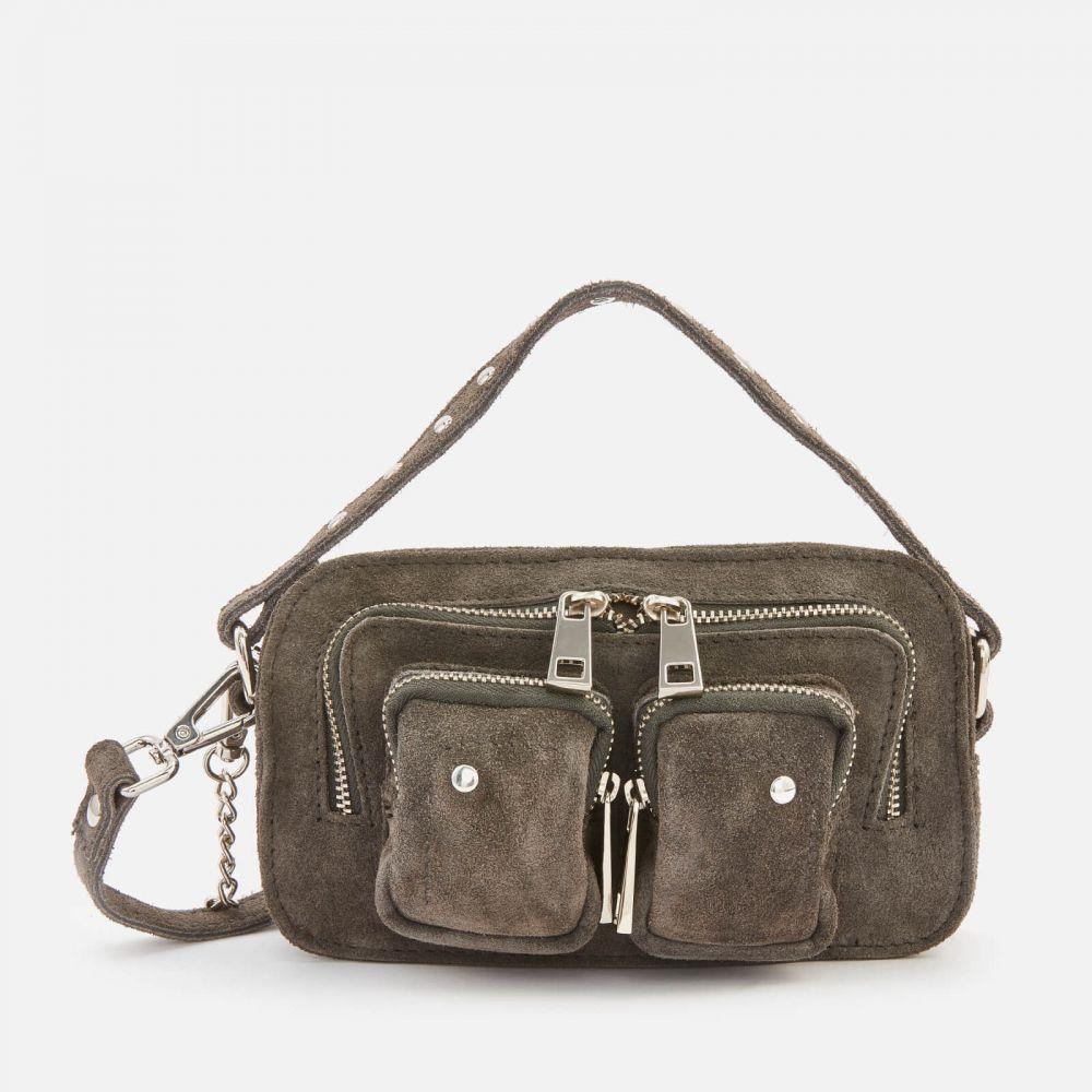 ヌーノ Nunoo レディース ショルダーバッグ バッグ【Helena Suede Cross Body Bag】Grey