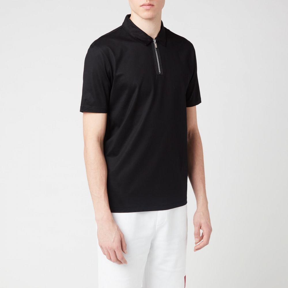 ヒューゴ ボス HUGO メンズ ポロシャツ トップス【Dolden Polo Shirt】Black
