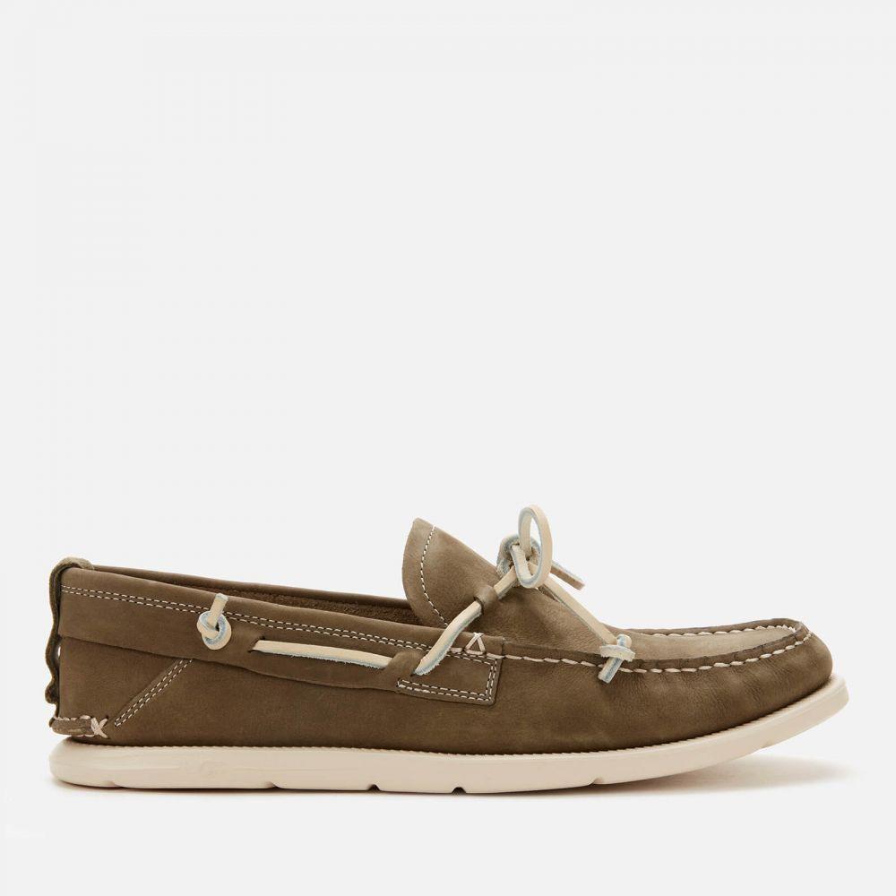 アグ UGG メンズ スリッポン・フラット シューズ・靴【Beach Moc Slip-On Nubuck Boat Shoes】Green