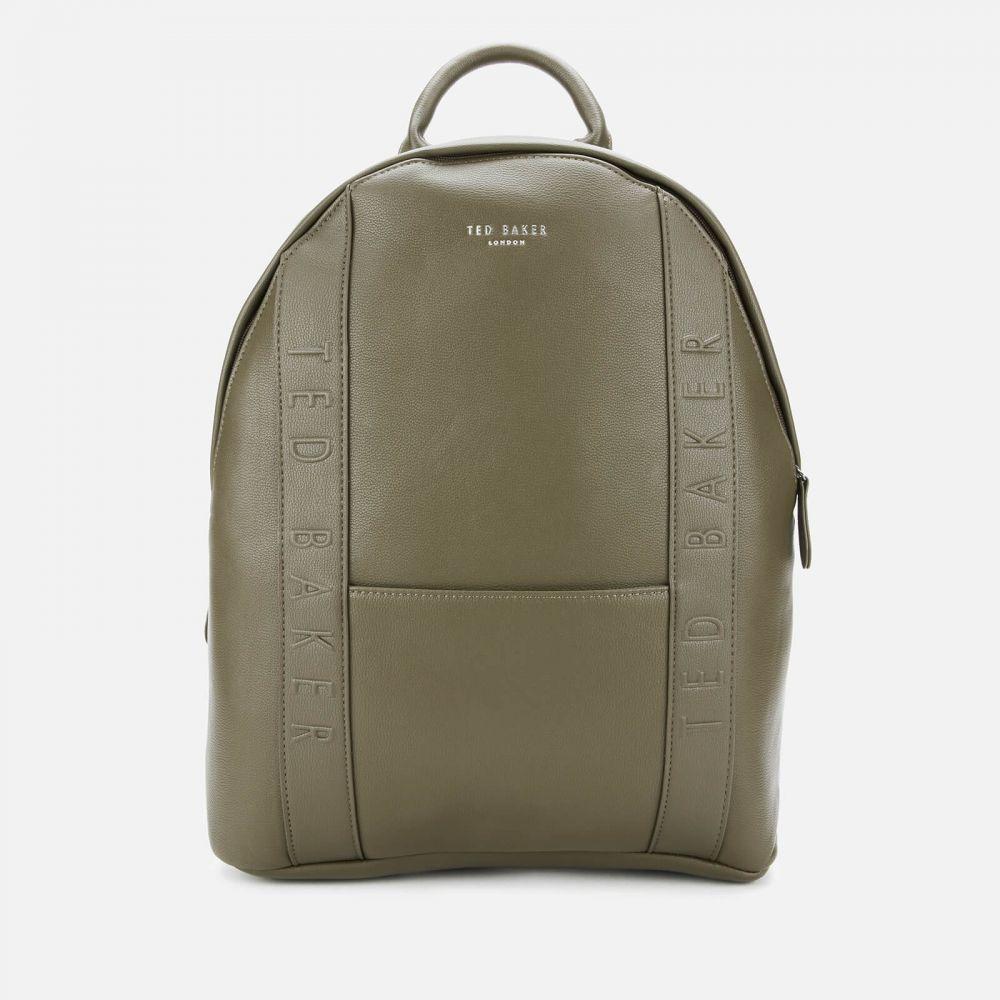 テッドベーカー Ted Baker メンズ バックパック・リュック バッグ【Snacked Debossed Backpack】Green