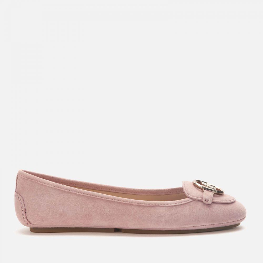 マイケル コース MICHAEL MICHAEL KORS レディース スリッポン・フラット シューズ・靴【Lillie Moc Suede Flats】Pink