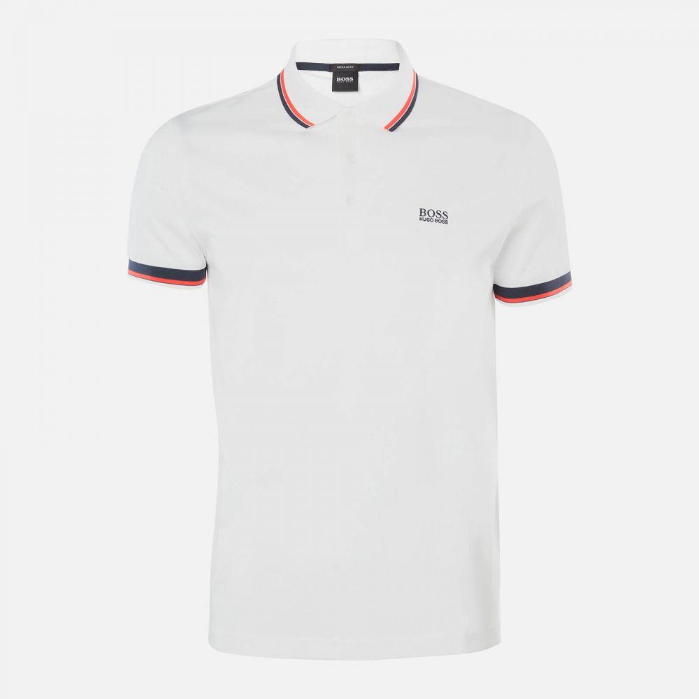 ヒューゴ ボス BOSS Hugo Boss メンズ ポロシャツ トップス【Paddy Ap 1 Polo Shirt】White