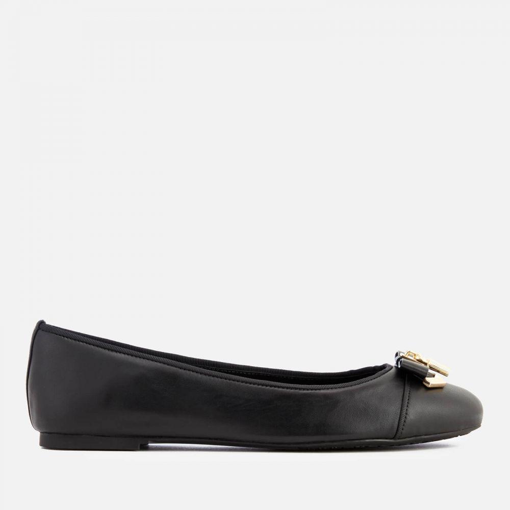 マイケル コース MICHAEL MICHAEL KORS レディース スリッポン・フラット シューズ・靴【Alice Leather Ballet Flats】Black