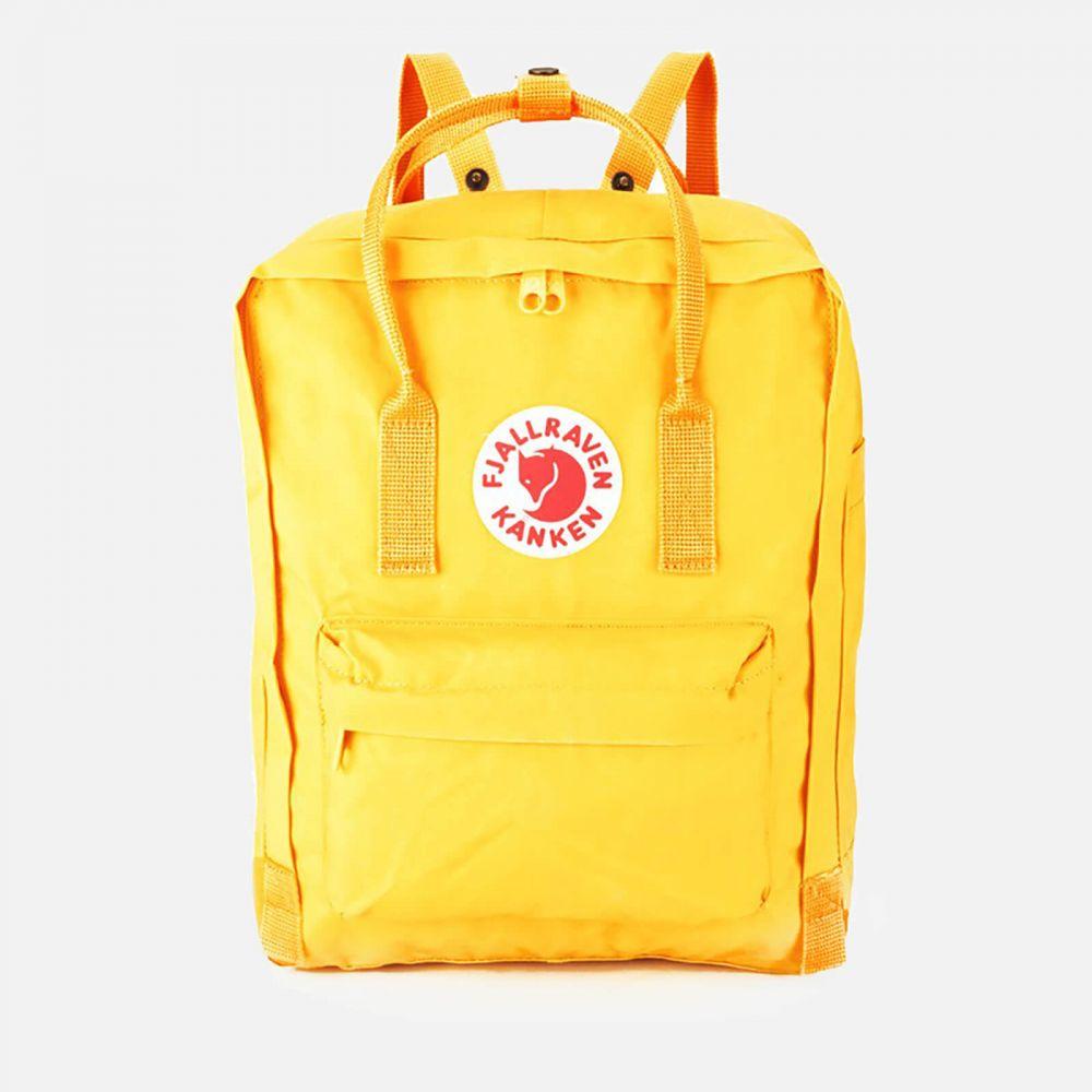 フェールラーベン Fjallraven レディース バックパック・リュック カンケン バッグ【Kanken Backpack】Warm Yellow