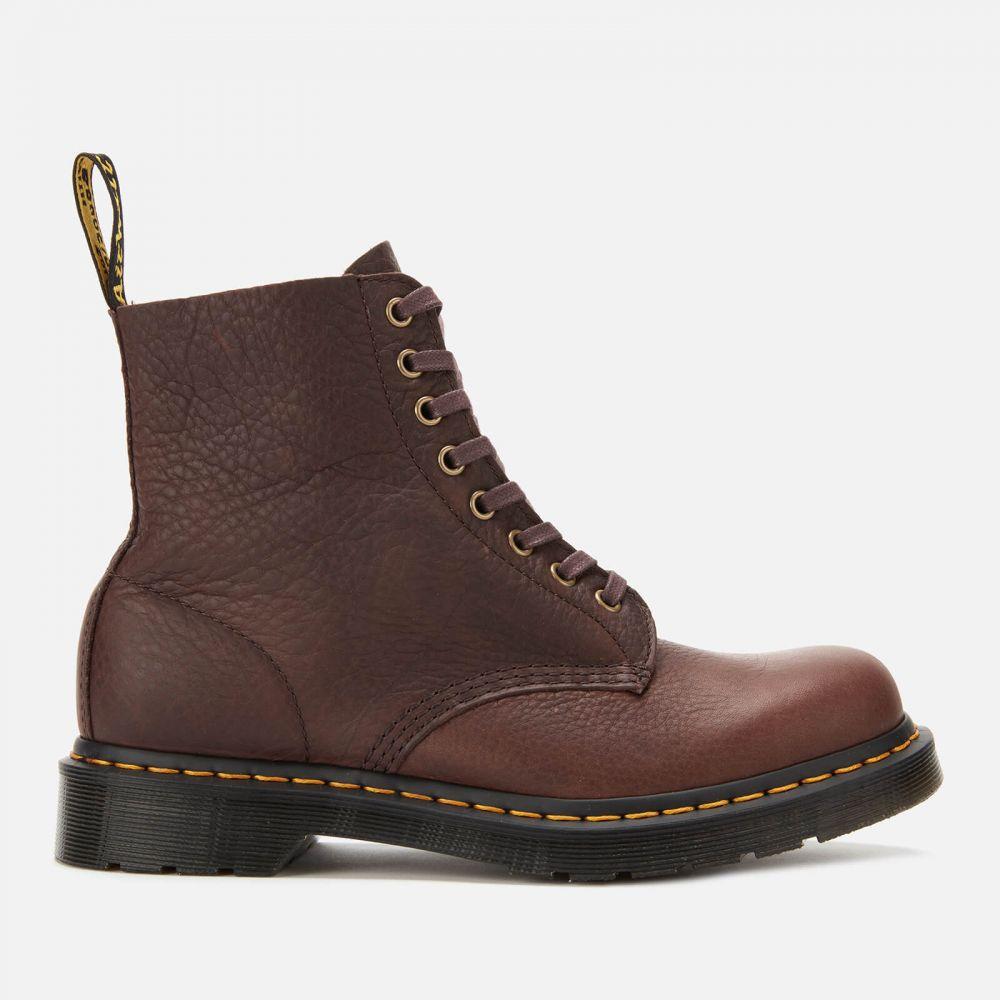 ドクターマーチン Dr. Martens メンズ ブーツ シューズ・靴【1460 Ambassador Soft Leather Pascal 8-Eye Boots】Brown