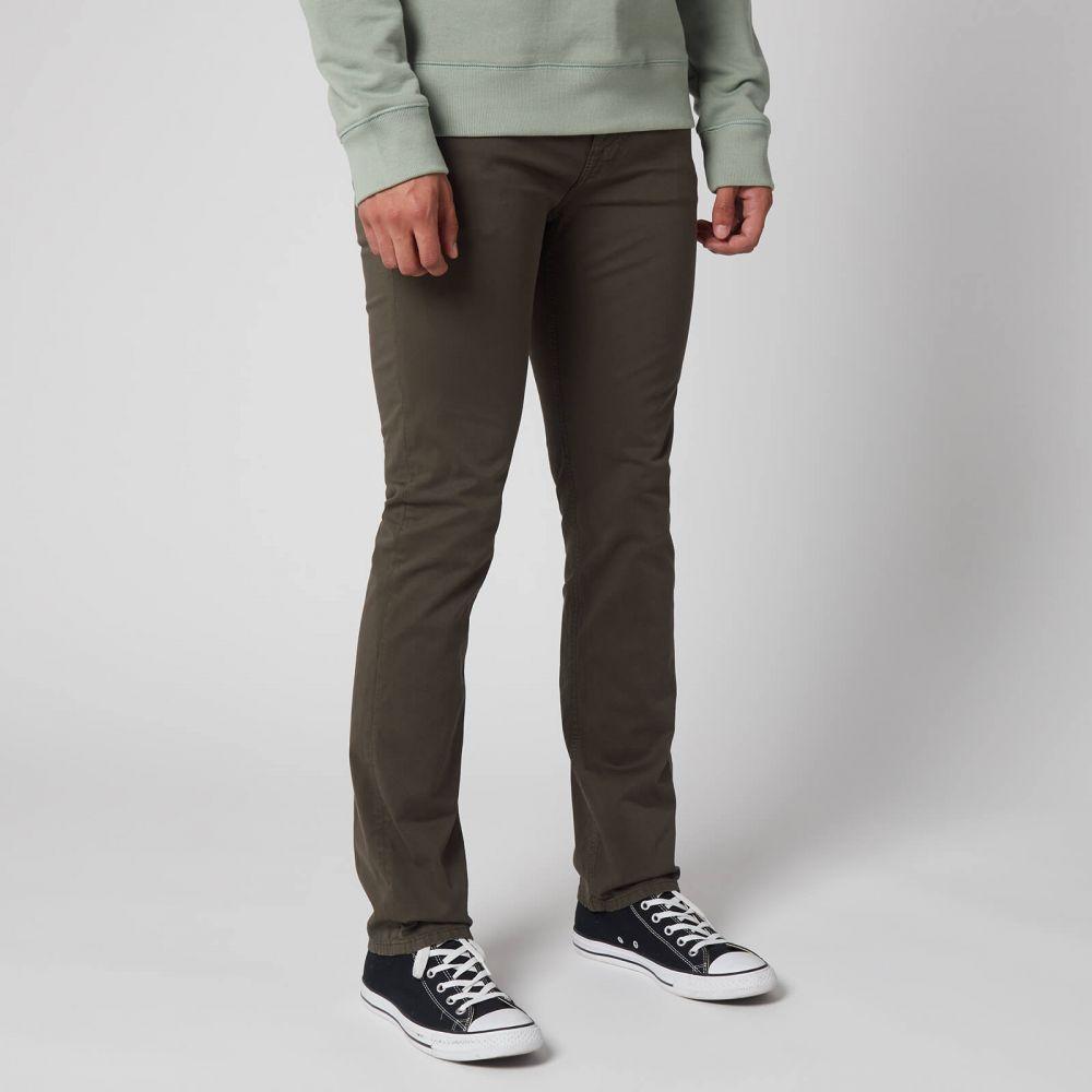 ヌーディージーンズ Nudie Jeans メンズ ジーンズ・デニム ボトムス・パンツ【Slim Adam Jeans】Green