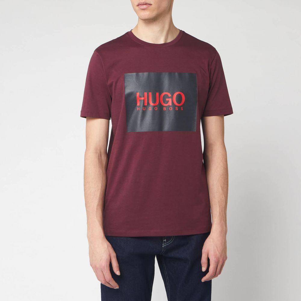 ヒューゴ ボス HUGO メンズ Tシャツ トップス【Dolive 201 T-Shirt】Red