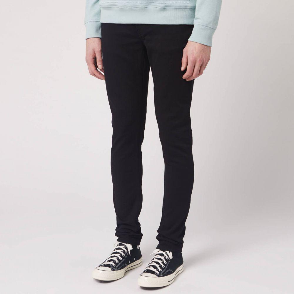 ヌーディージーンズ Nudie Jeans メンズ ジーンズ・デニム ボトムス・パンツ【Skinny Lin Skinny Jeans】Black