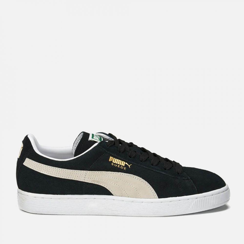 プーマ Puma メンズ スニーカー シューズ・靴【Suede Classic Trainers】Black/White