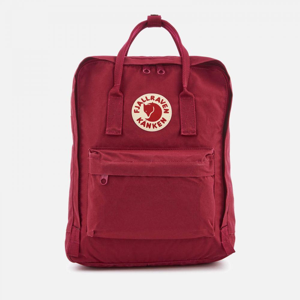 フェールラーベン Fjallraven メンズ バックパック・リュック カンケン バッグ【Kanken Backpack】Burgundy