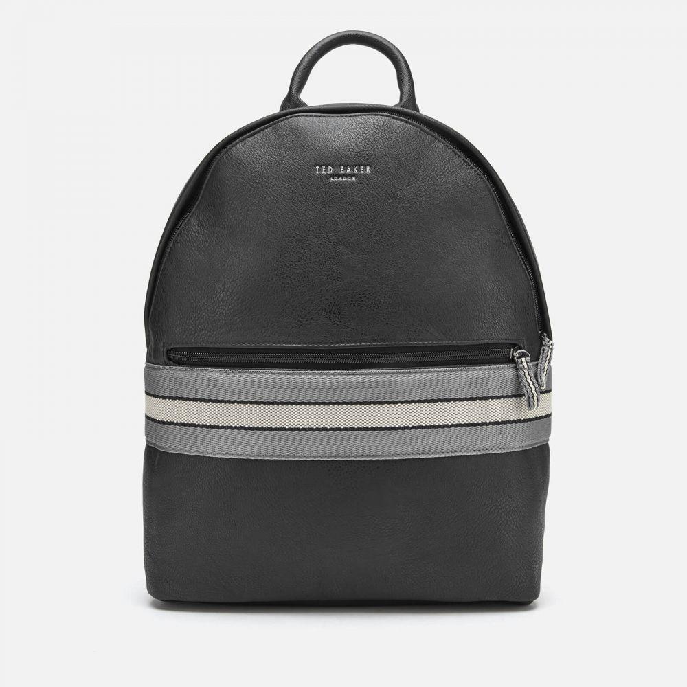 テッドベーカー Ted Baker メンズ バックパック・リュック バッグ【Agro Webbing Backpack】Black