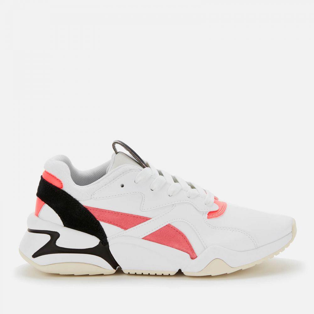 プーマ Puma レディース スニーカー シューズ・靴【Nova Pop Trainers】White