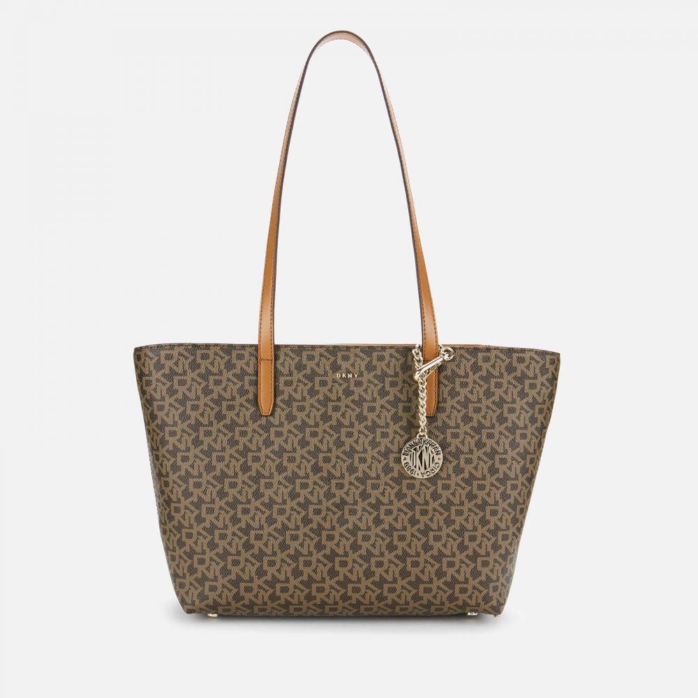 ダナ キャラン ニューヨーク DKNY レディース トートバッグ バッグ【Bryant Park Medium Tote Bag】Brown