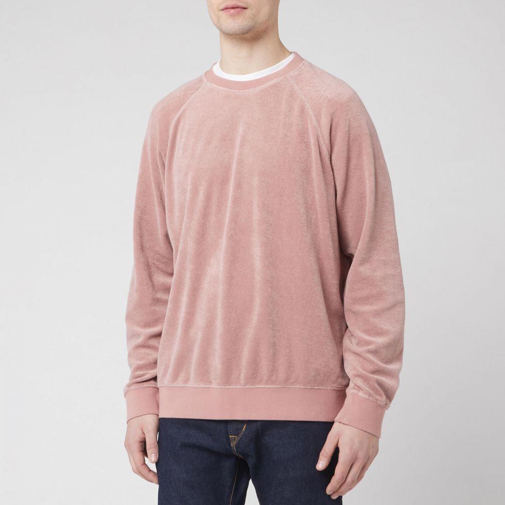 エドウィン Edwin メンズ スウェット・トレーナー トップス【Van Crew Sweatshirt】Pink