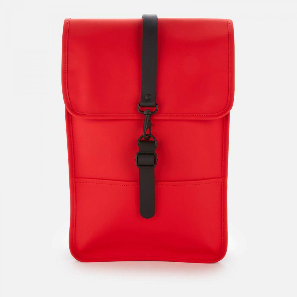 レインズ RAINS メンズ バックパック・リュック バッグ【Mini Backpack】Red