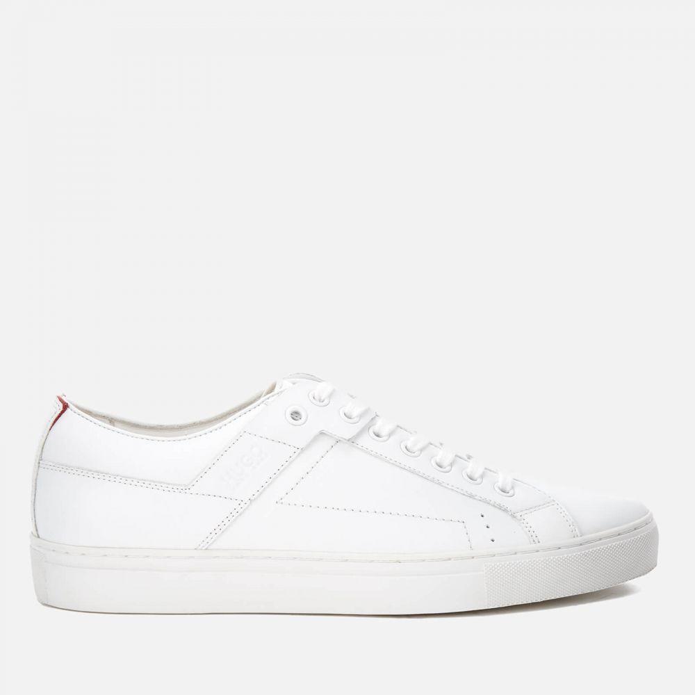 ヒューゴ ボス HUGO メンズ スニーカー シューズ・靴【Futurism Leather Cupsole Trainers】White