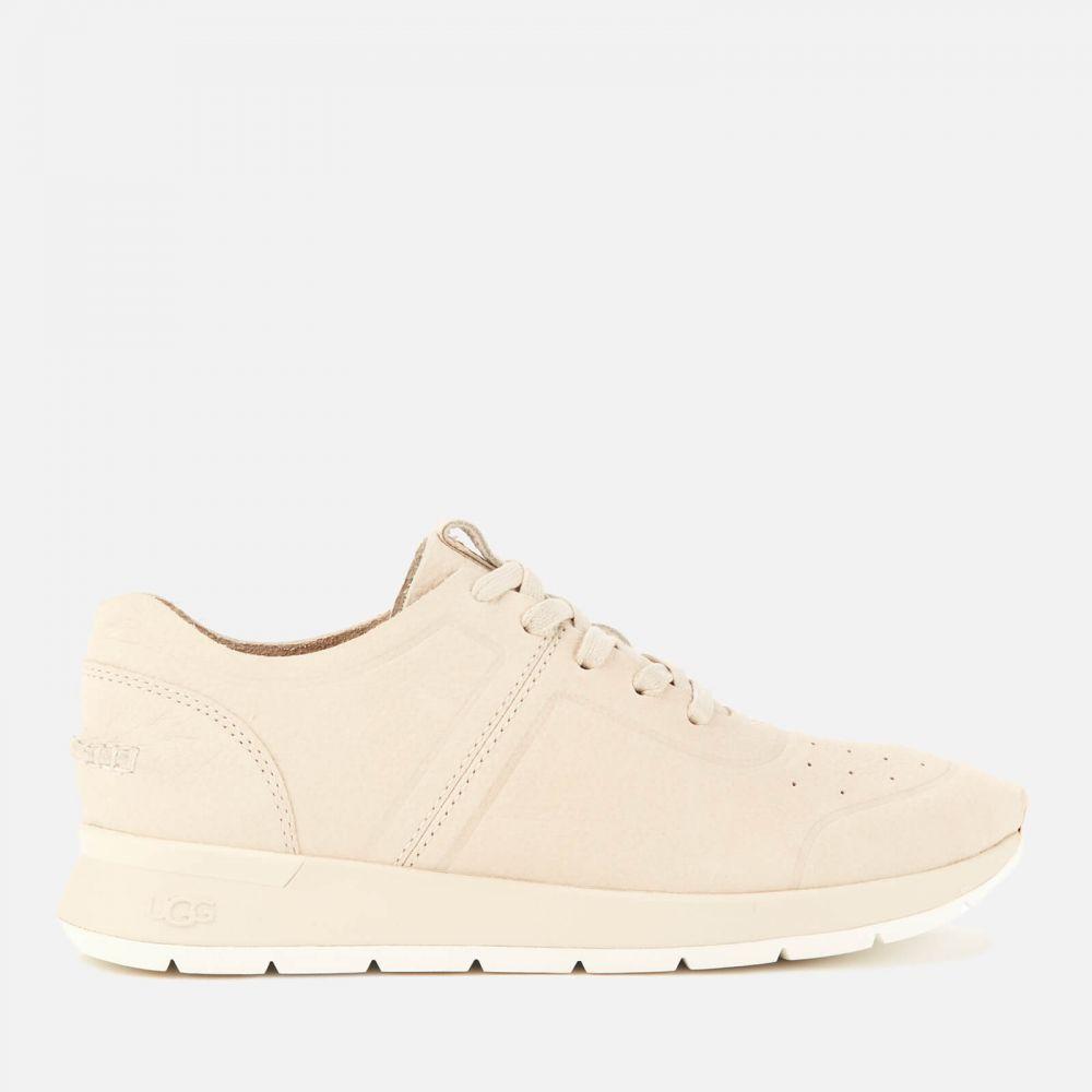 アグ UGG レディース ランニング・ウォーキング シューズ・靴【Adaleen Nubuck Running Style Trainers】White