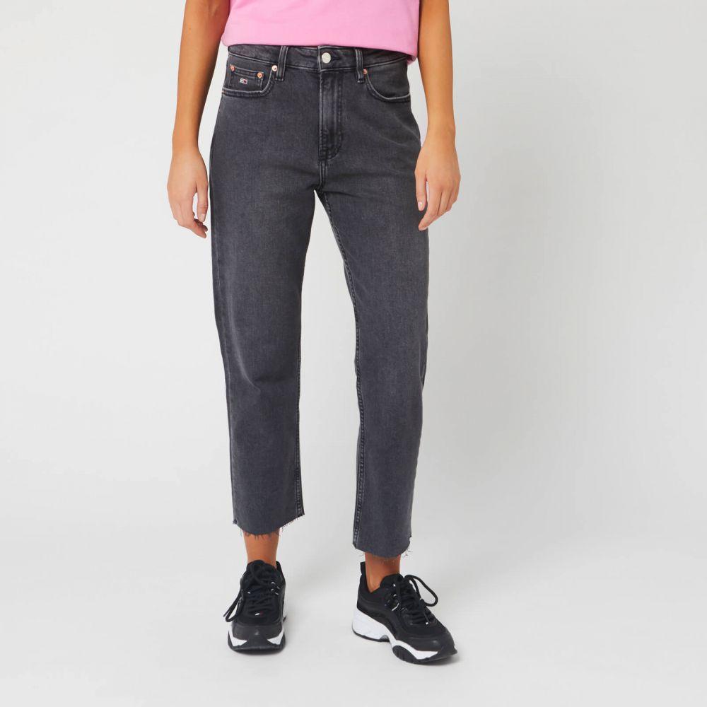 トミー ジーンズ Tommy Jeans レディース ジーンズ・デニム ボトムス・パンツ【Harper Straight A Jeans】Black