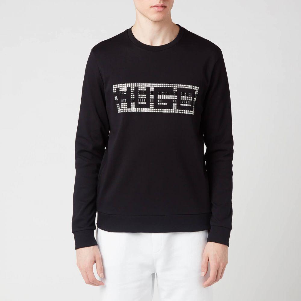 ヒューゴ ボス HUGO メンズ スウェット・トレーナー トップス【Dicago-U202 Sweatshirt】Black