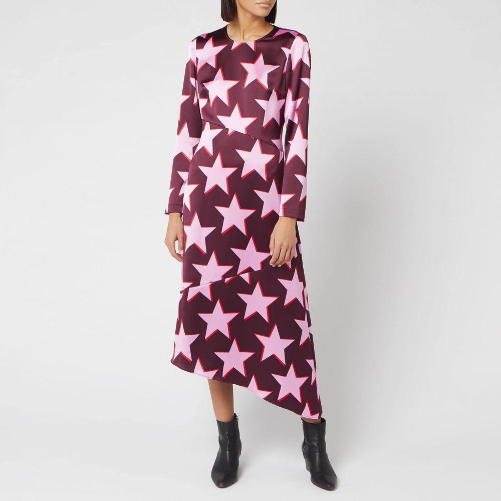ヒューゴ ボス HUGO レディース ワンピース ワンピース・ドレス【Komerla Dress】Burgundy/Pink