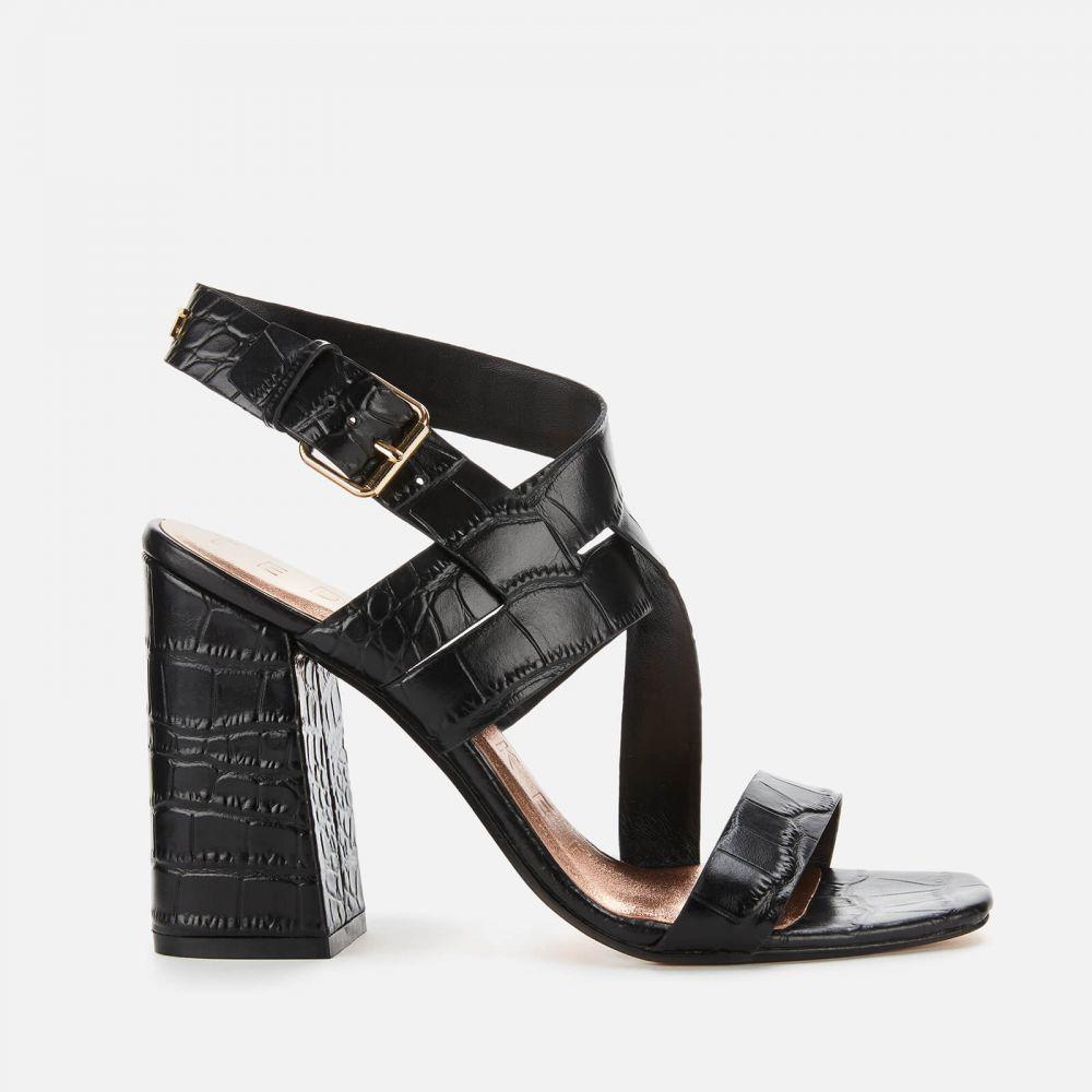 テッドベーカー Ted Baker レディース サンダル・ミュール シューズ・靴【Kaseraa Block Heeled Sandals】Black