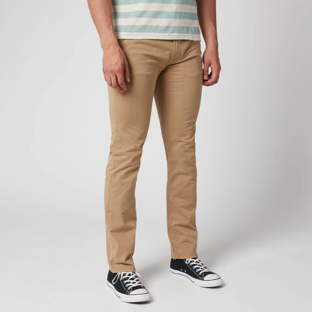 ヌーディージーンズ Nudie Jeans メンズ ジーンズ・デニム ボトムス・パンツ【Slim Adam Jeans】Beige