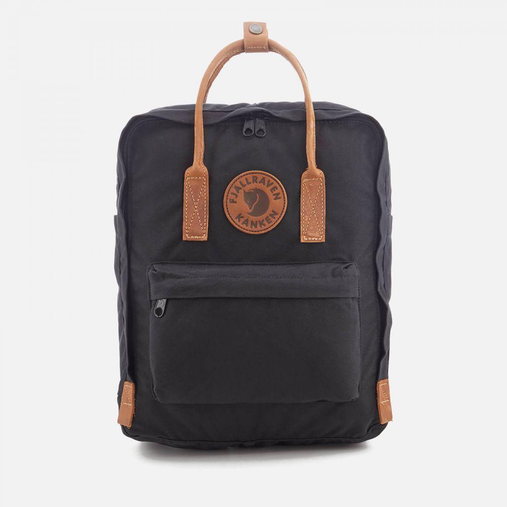 フェールラーベン Fjallraven メンズ バックパック・リュック カンケン バッグ【Kanken No.2 Backpack】Black