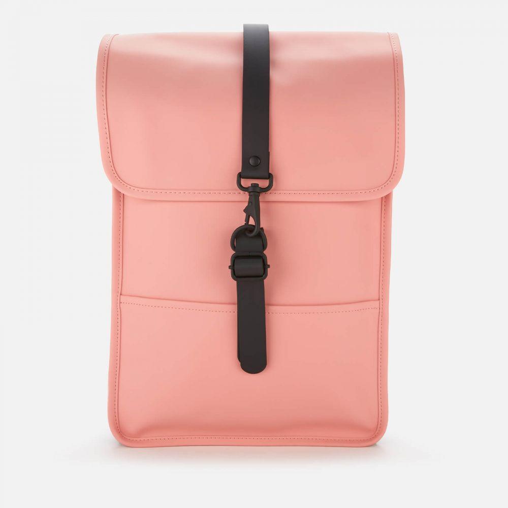 レインズ RAINS メンズ バックパック・リュック バッグ【Mini Backpack】Pink