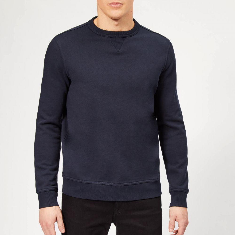 ヒューゴ ボス BOSS Hugo Boss メンズ スウェット・トレーナー トップス【boss walkup sweatshirt - navy】Navy
