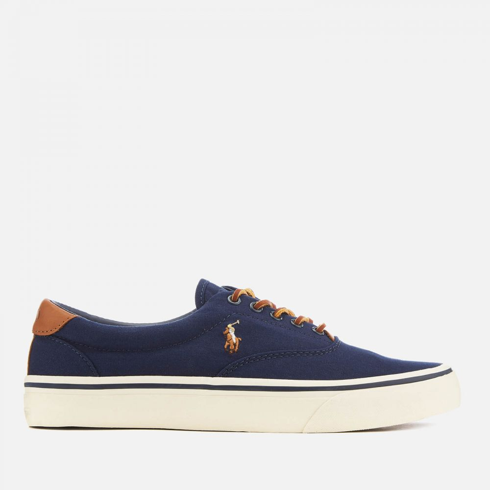ラルフ ローレン Polo Ralph Lauren メンズ スニーカー シューズ・靴【thorton ne canvas vulcanised trainers - newport navy】Blue