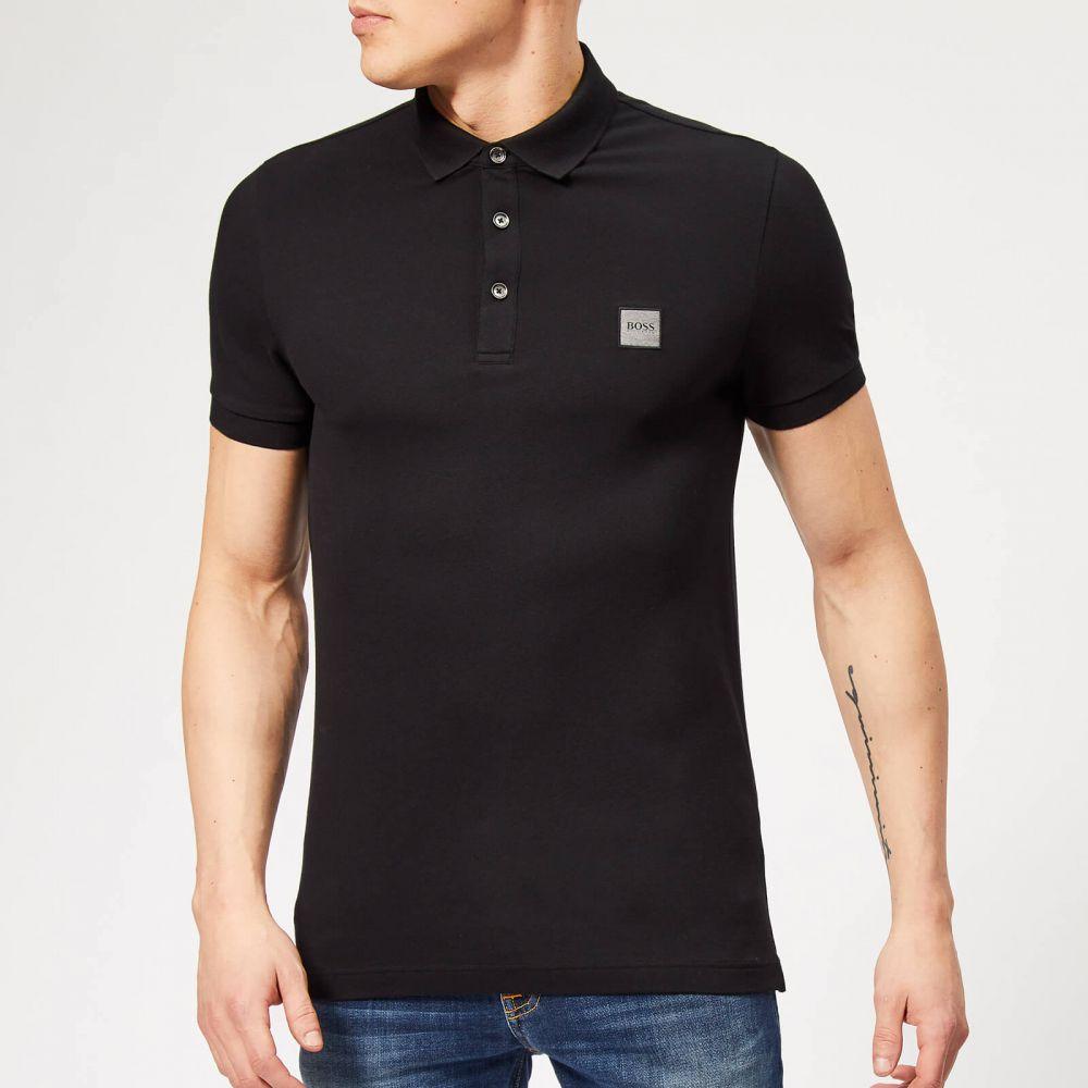ヒューゴ ボス BOSS メンズ ポロシャツ トップス【passenger polo shirt - black】Black