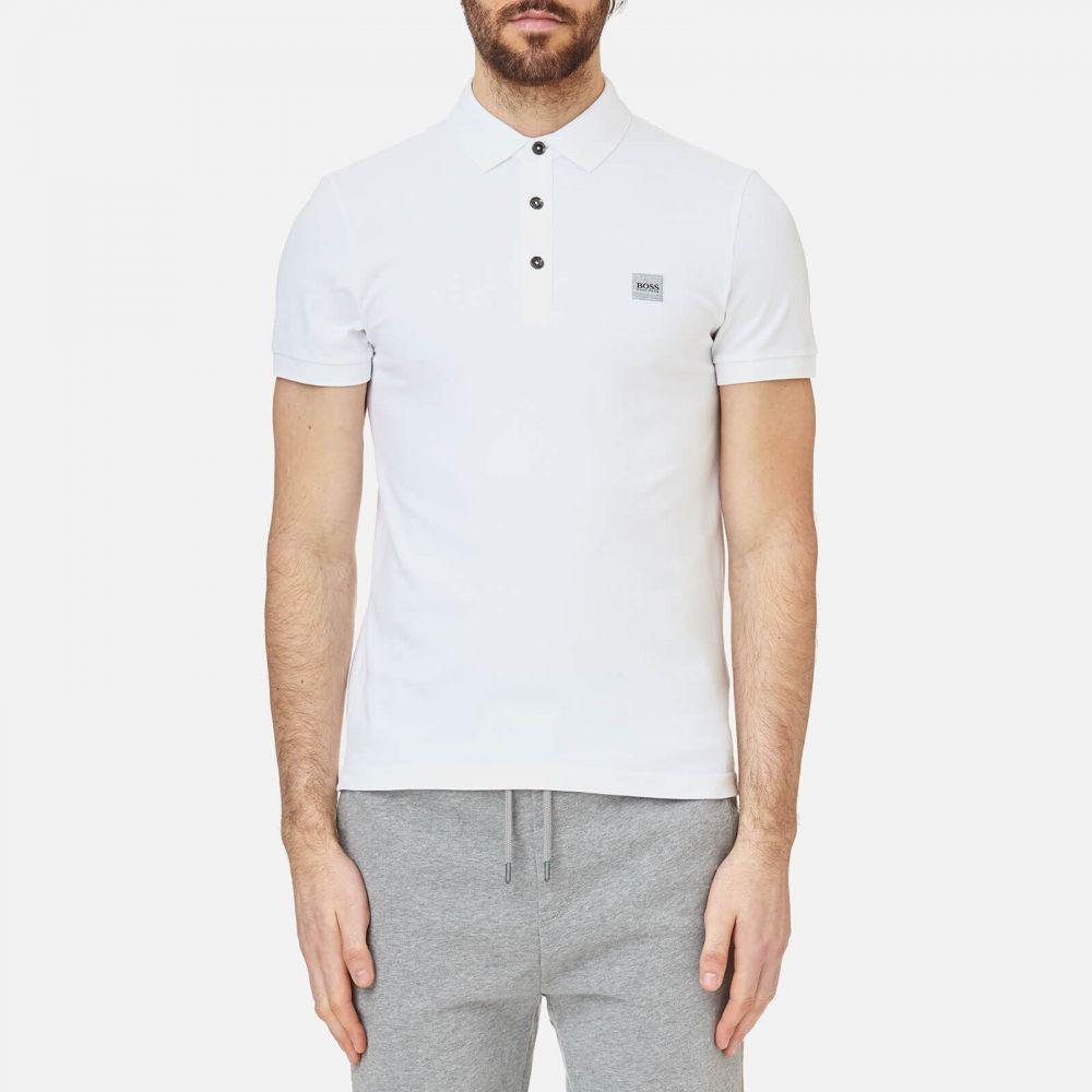 ヒューゴ ボス BOSS メンズ ポロシャツ トップス【passenger polo shirt - white】White
