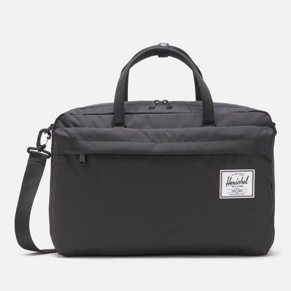 ハーシェル サプライ Herschel Supply Co. メンズ パソコンバッグ bowen black バッグ - 今だけスーパーセール限定 laptop Black bag 卸直営